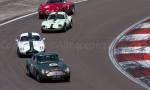 48 Aston Martin DB4GT - 9 Lotus Elite - 15 Ginetta G4 - 10 Alfa Roméo Giulia SZ