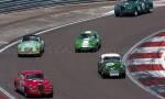 33 Lancia Aurelia B20 GT,49 Triumph TR3,26 MGA Twincam, 36 Lotus Elite,32 Lancia Aurelia B20