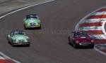 55 Aston Martin DB4GT,27 MGA Twincam,26 MGA Twincam