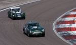 38 Aston Martin DB4GT,42 Morgan +4 Supersport