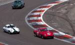 56 Ferrari,9 Lotus Elite,78 Aston Martin DB4GT